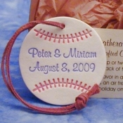Baseball Ornament Favors