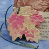 Autumn Leaf Ornament Favor