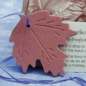 Fall Leaf Ornament Favor