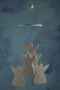 Angel Wind Chime Favors