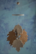 Fall Leaf Wind Chime Favors