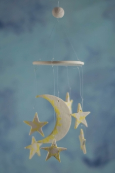 Moon and Star Wind Chime Favors